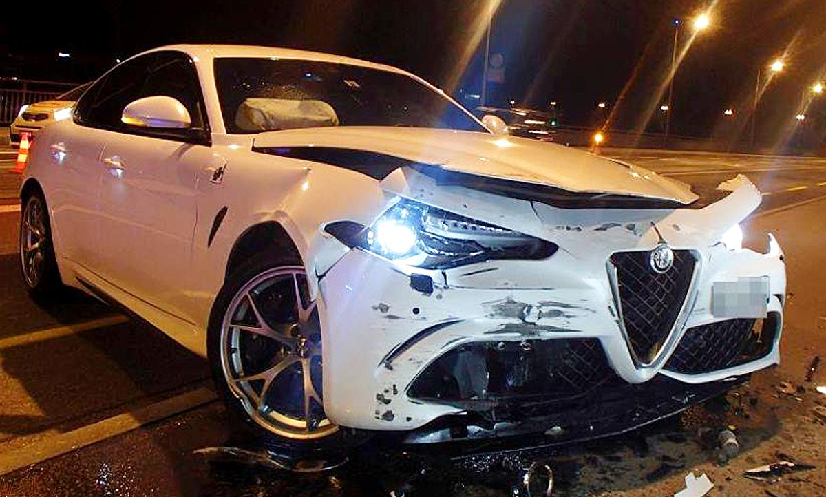 Alfa Romeo Giulietta >> Alfa Romeo Giulia QV gecrasht: Video | autozeitung.de