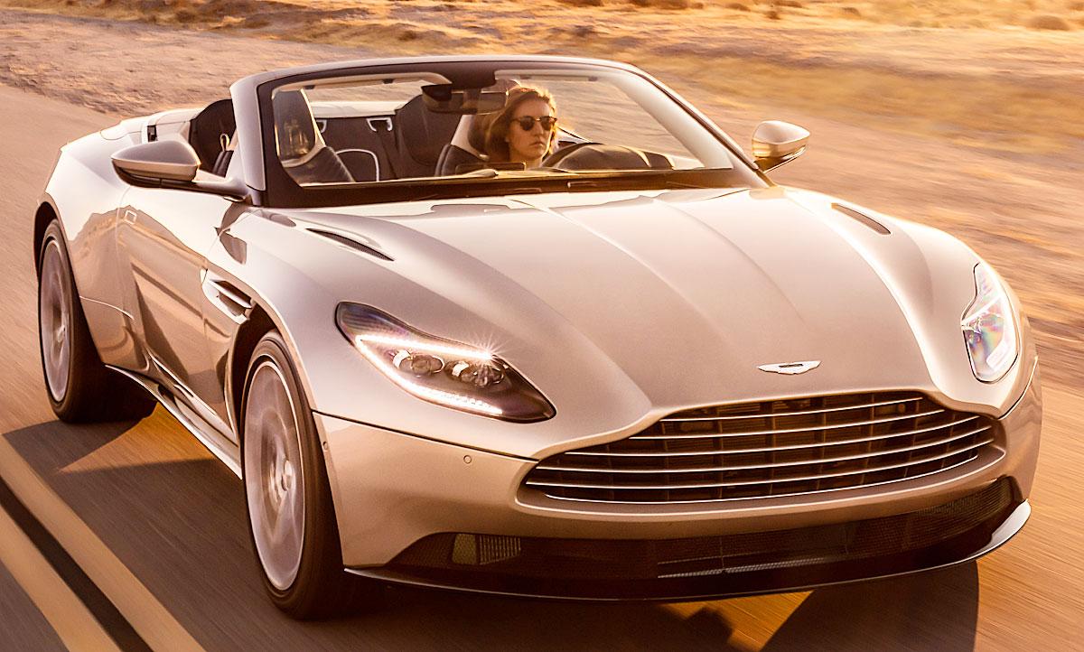 Aston Martin Db11 Volante 2018 Preis Autozeitung De
