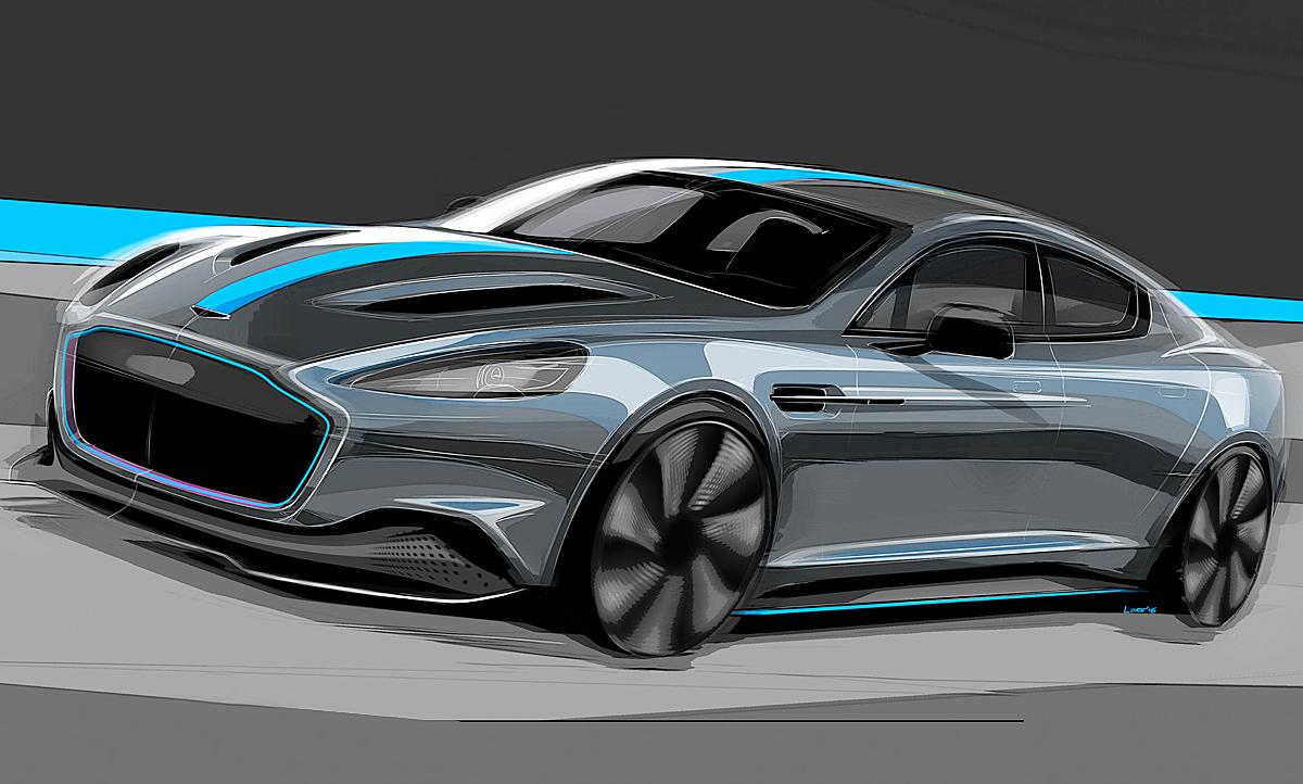 Aston Martin Rapide E (11): Motor & Ausstattung ... | aston martin rapide concept
