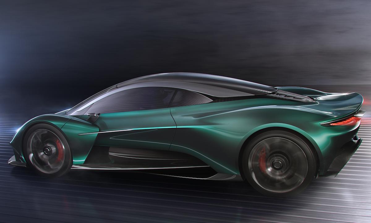 Aston Martin Vanquish Vision Concept 2019 Motor Autozeitung De