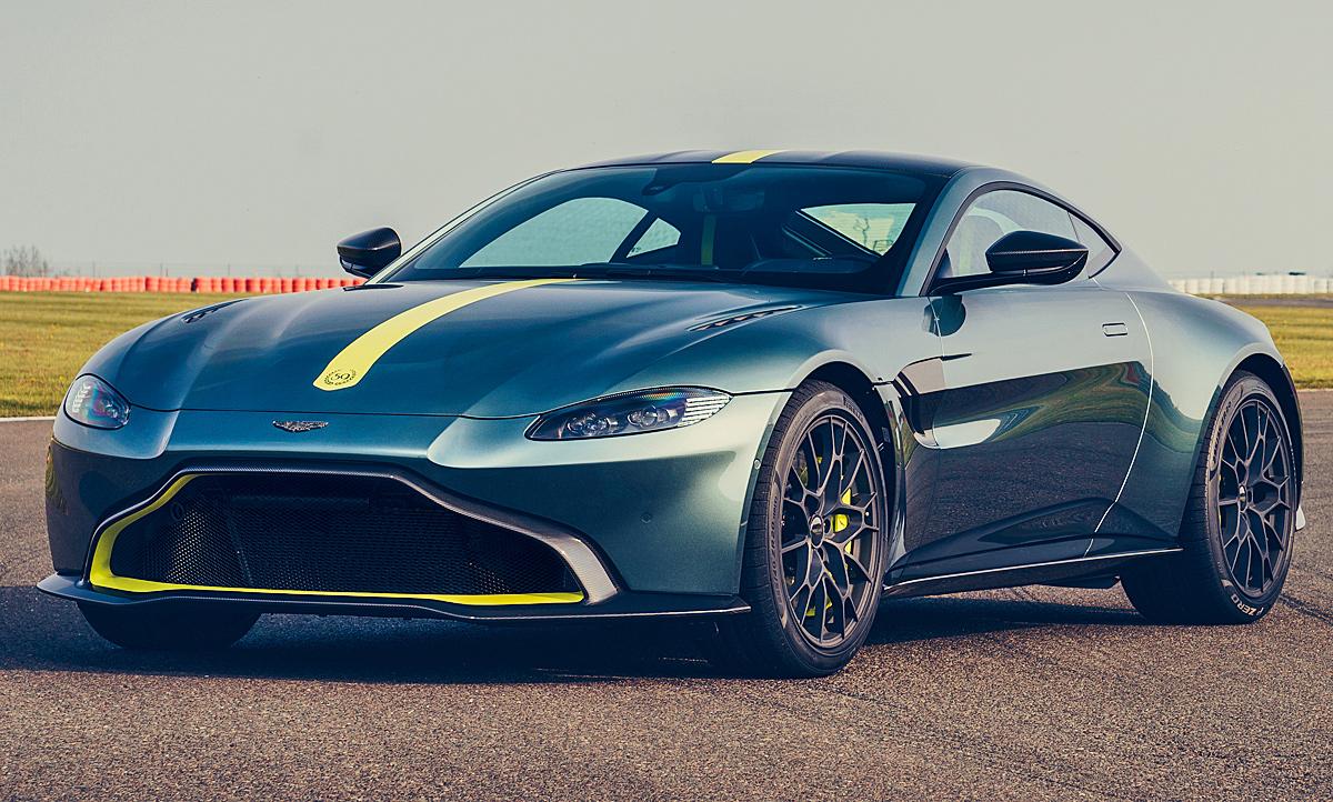 Aston Martin Vantage Amr 2019 Motor Ausstattung Autozeitung De