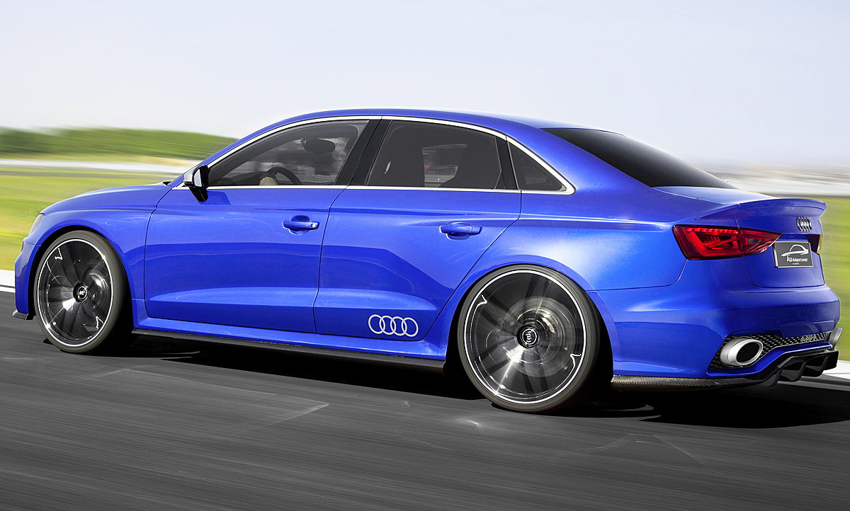 Audi A3 Clubsport Quattro Concept Video Autozeitungde