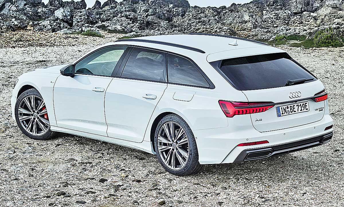 Audi A6 Avant 2018 Kofferraumvolumen Hybrid Autozeitung De