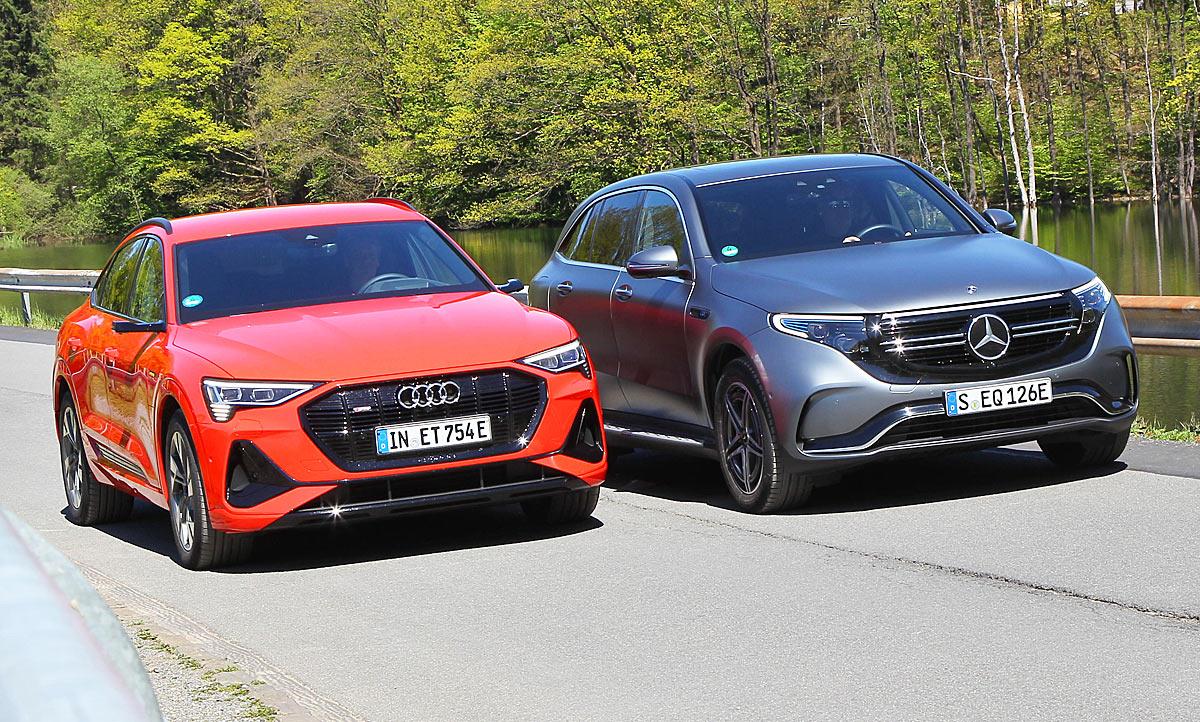 Audi e-tron Sportback/Mercedes EQC: Vergleichstest | autozeitung.de