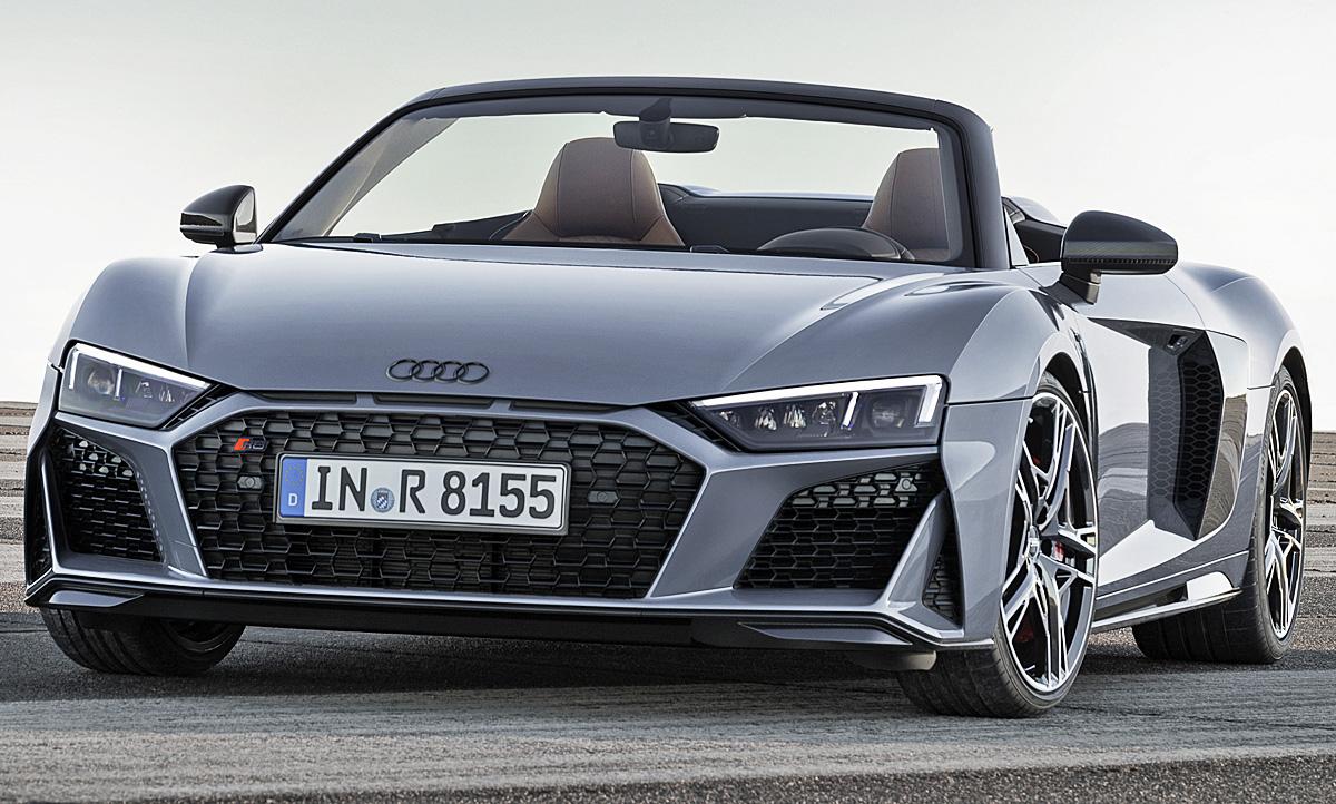 Audi R8 Spyder Facelift 2019 Ausstattung Amp Motor
