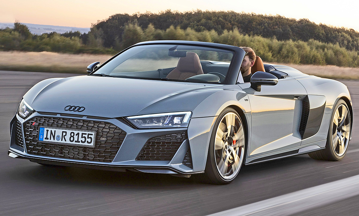 2020 Audi R8 V10 Spyder Photos