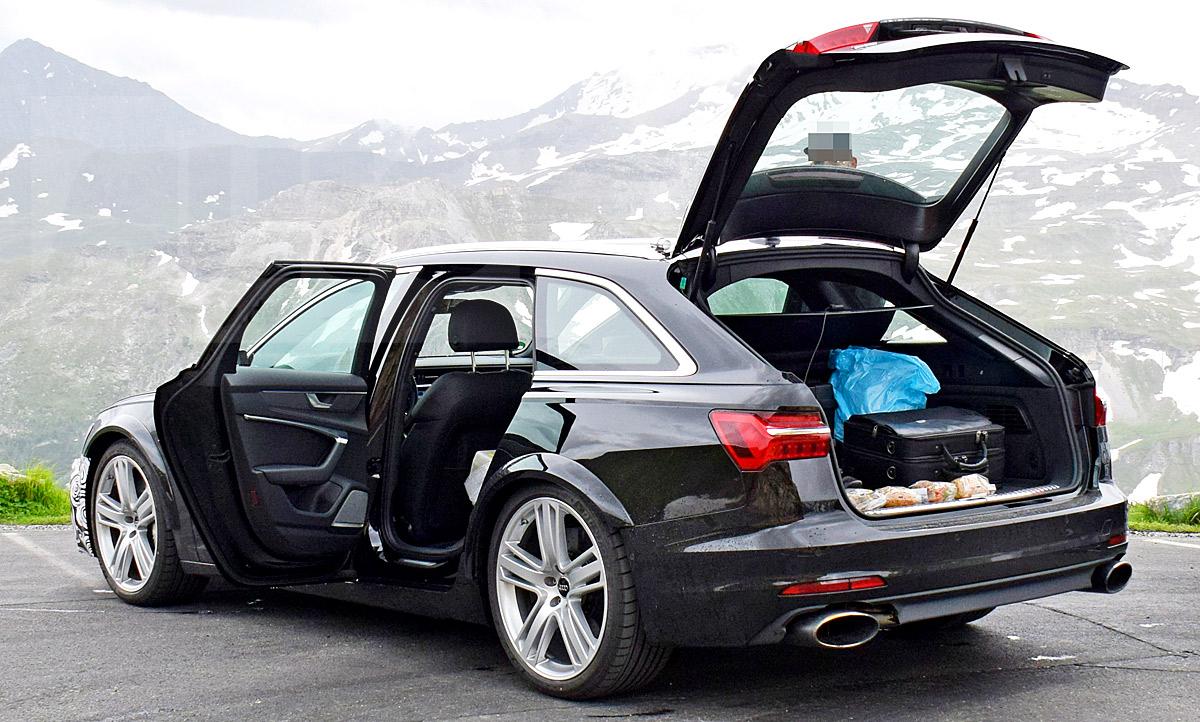 Audi Rs 6 2019 Erste Fotos Update Autozeitung De