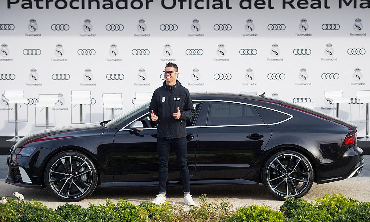 Cristiano Ronaldo Audi Rs 7 Bugatti Chiron Autozeitung De