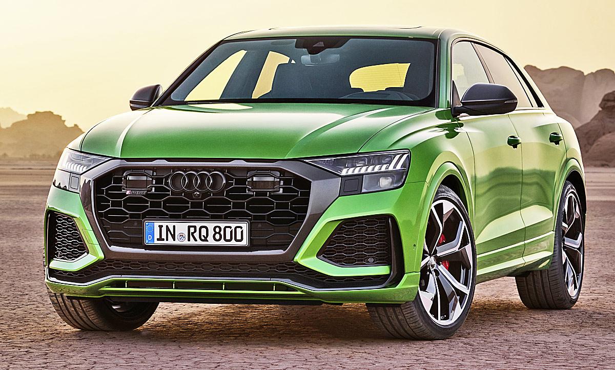 Audi Rs Q8 2020 Motor Ausstattung Autozeitung De