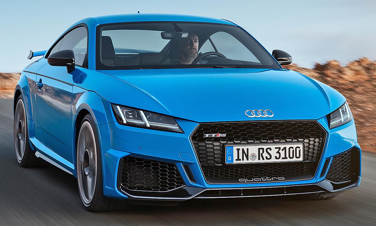 Audi TT RS Facelift (2019): PS, Preis & Daten   autozeitung.de