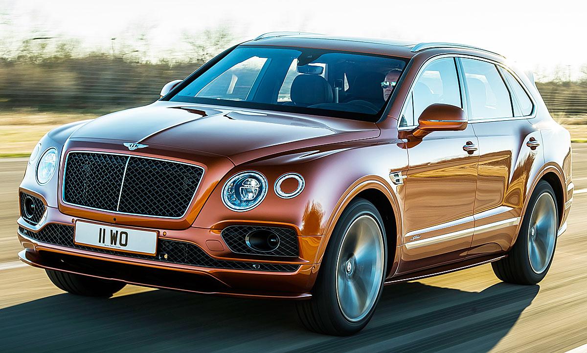 Bentley Bentayga Speed (2019): Motor & Ausstattung ...