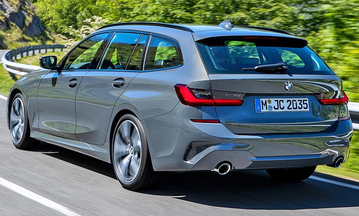 Bmw 3er Touring 2019 Hybrid Kofferraum Autozeitung De