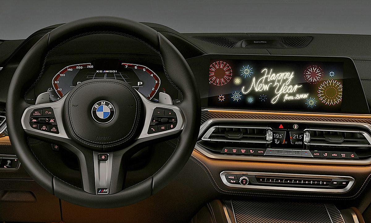 BMW Neujahr Festive Animation: Video   autozeitung.de