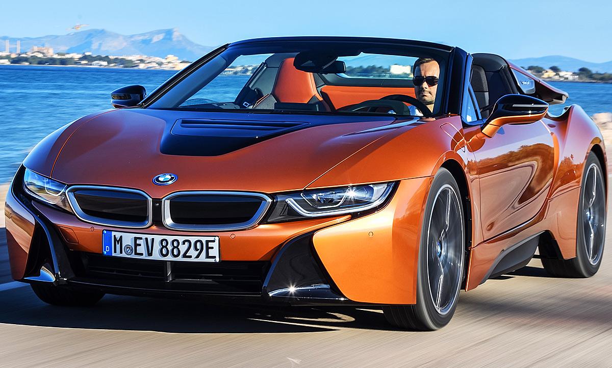 Bmw I8 Roadster Test Autozeitung De