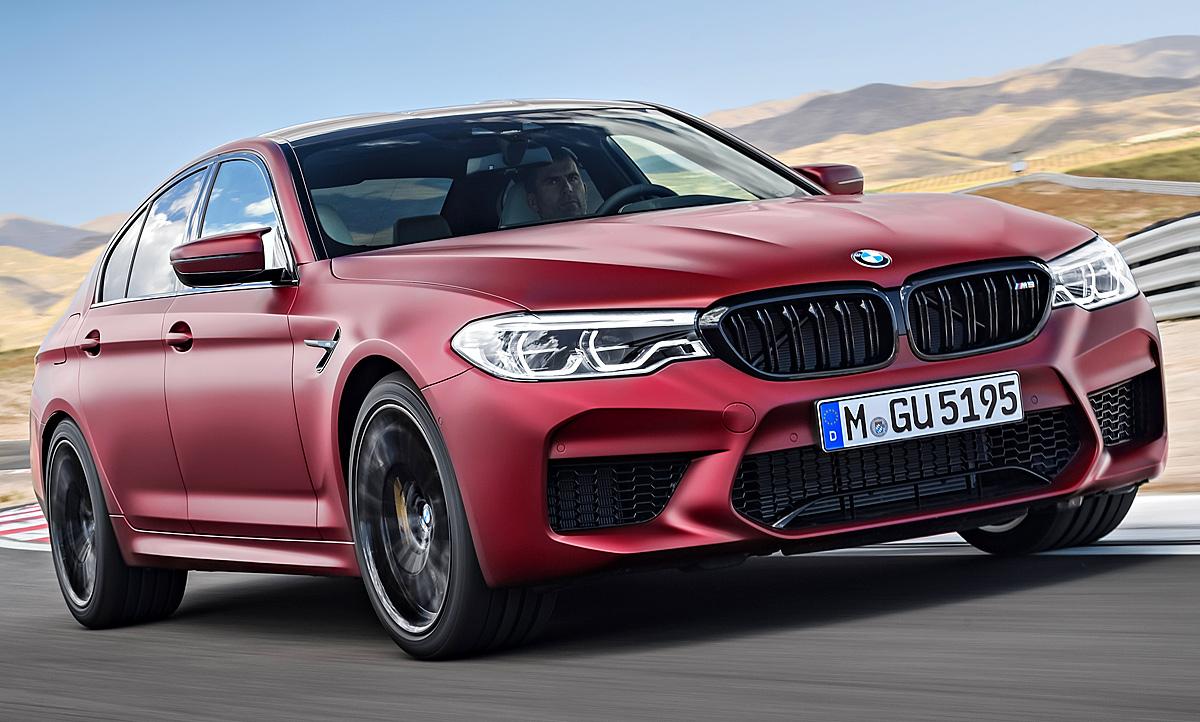 Bmw M5 2018 Motor Ausstattung F90 Autozeitung De