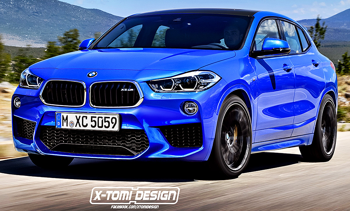 bmw x2 m illustration. Black Bedroom Furniture Sets. Home Design Ideas
