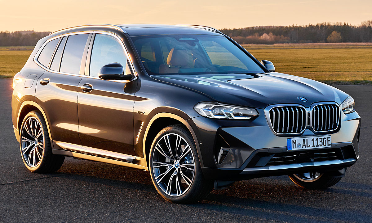 2020 BMW X3 Hybrid Pictures