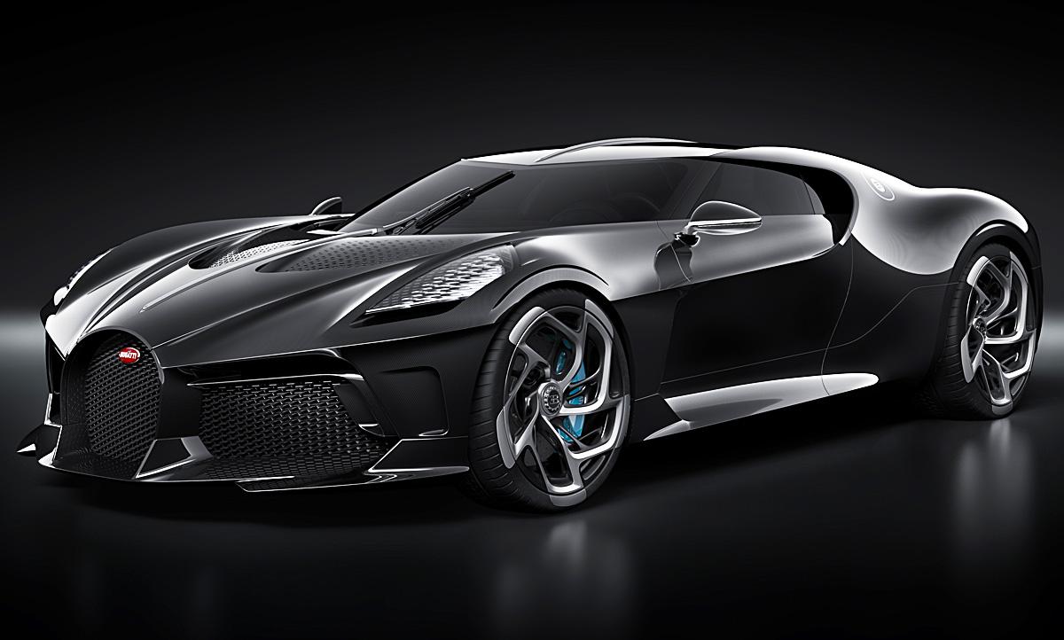 Bugatti La Voiture Noire (2019): Motor & Ausstattung
