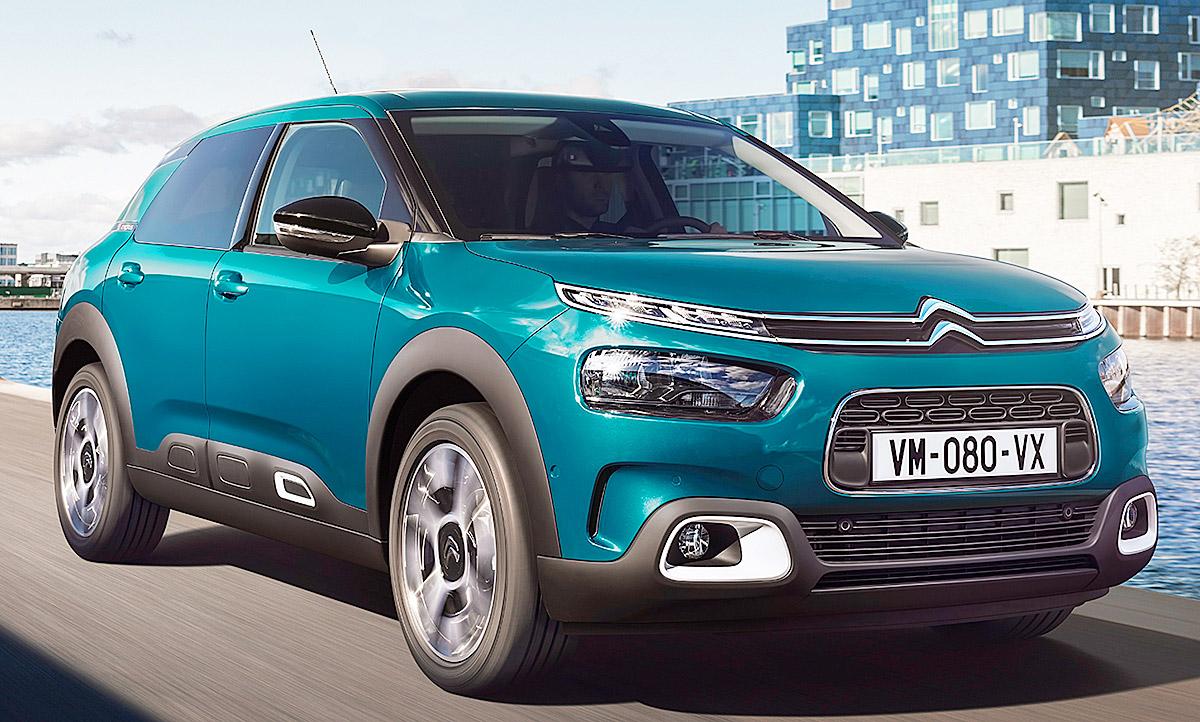 Citroën C4 Cactus Facelift (2018): Erste Fotos