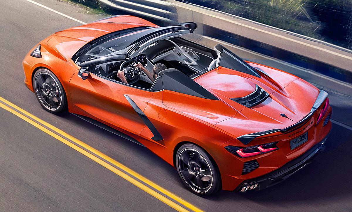 Corvette C8 Stingray Cabrio 2020 Motor Autozeitung De