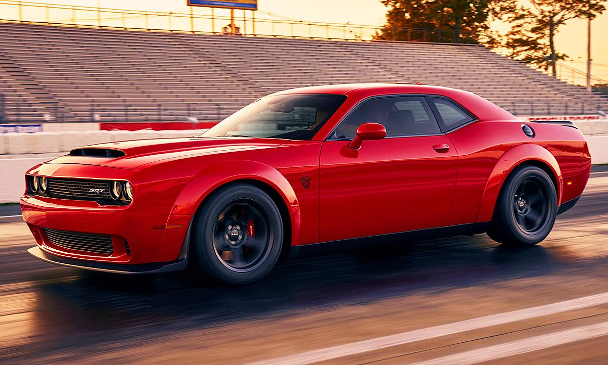 Challenger Srt Demon >> Dodge Challenger SRT Demon (2017): Video | autozeitung.de