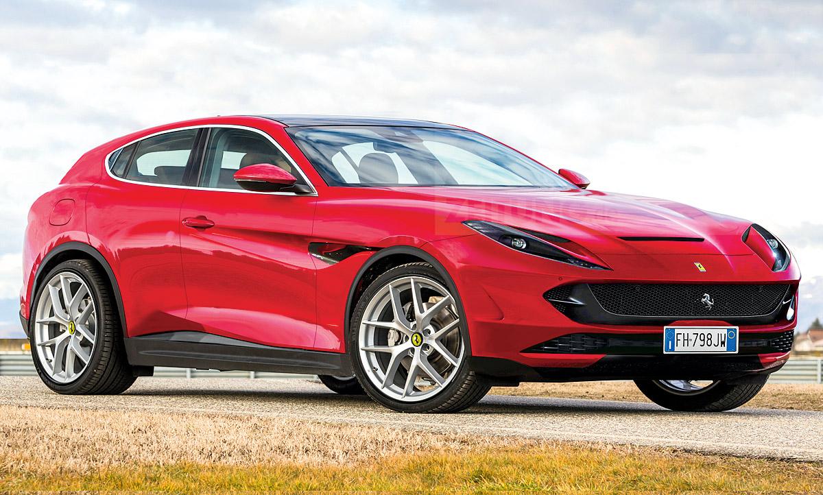 Ferrari Purosangue 2022 Informationen Zum Suv Autozeitung De