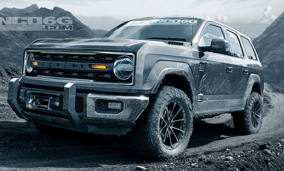 Ford Bronco (2020): Neue Informationen (Update!)