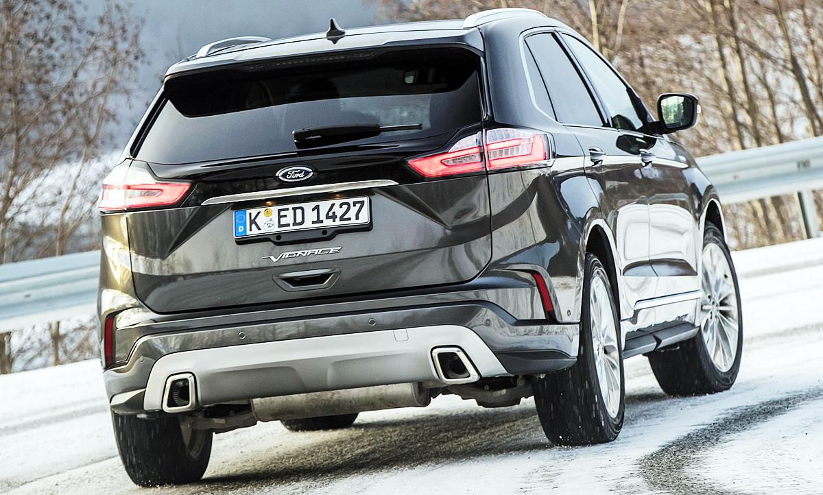 Ford Edge Facelift 2019 Motoren Autozeitung De