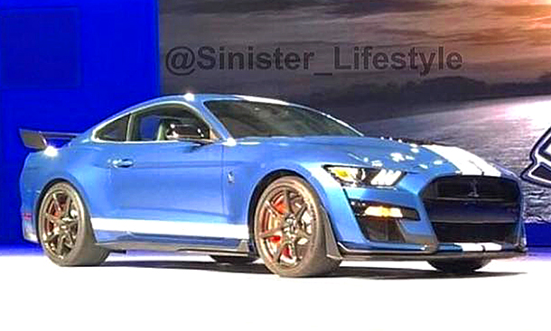 ford mustang shelby gt500 detroit auto show 2019. Black Bedroom Furniture Sets. Home Design Ideas