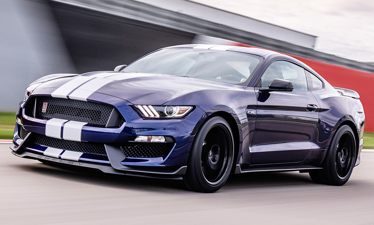 2020 Ford Mustang Shelby Gt 350 Speed Test