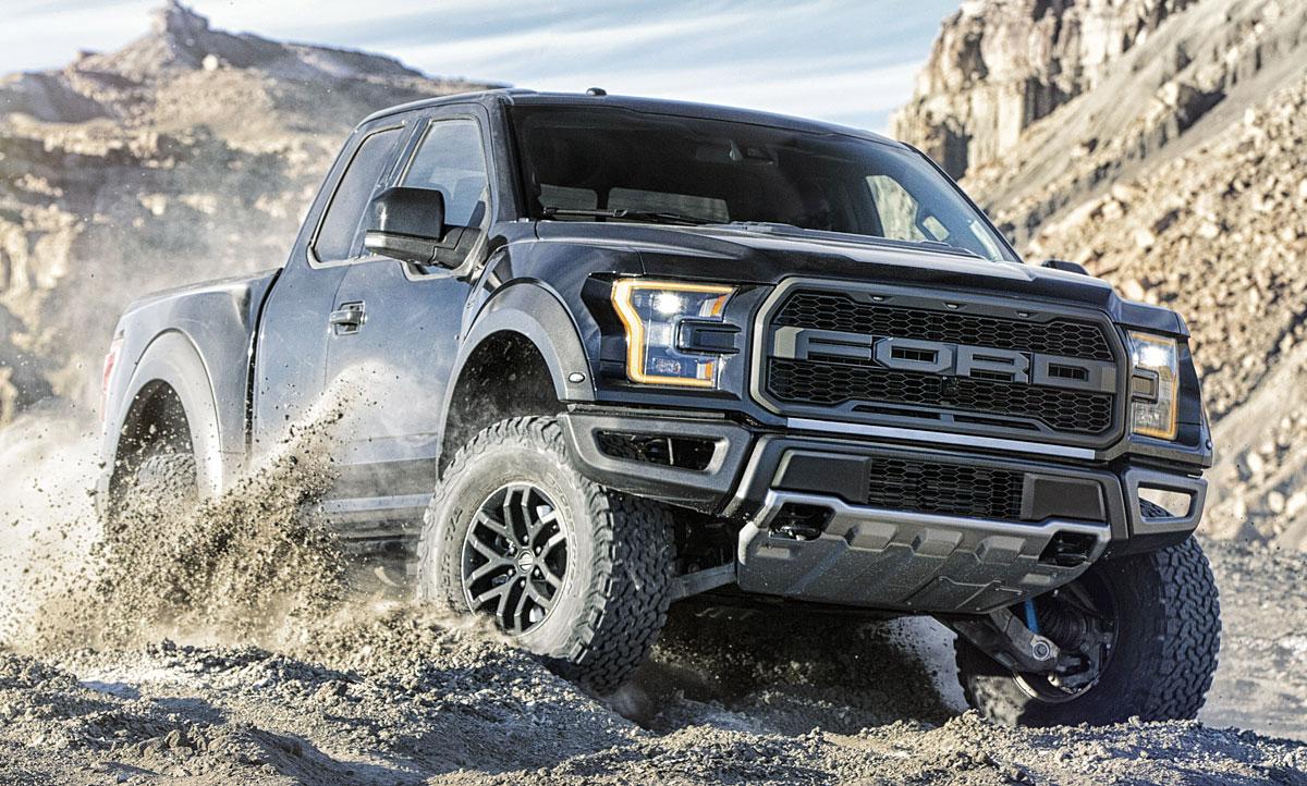 Neuer Ford F 150 Raptor 2017 Erste Fahrt Autozeitung De