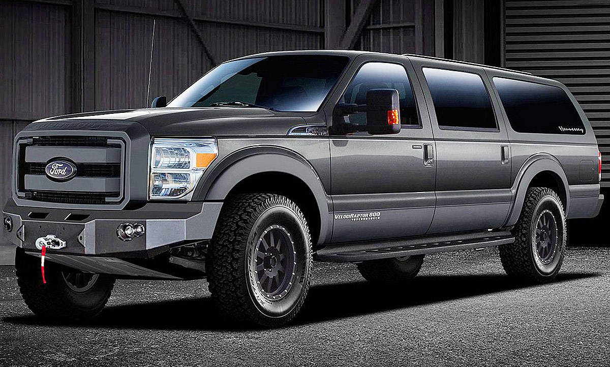 2020 Ford Excursion Diesel Speed Test