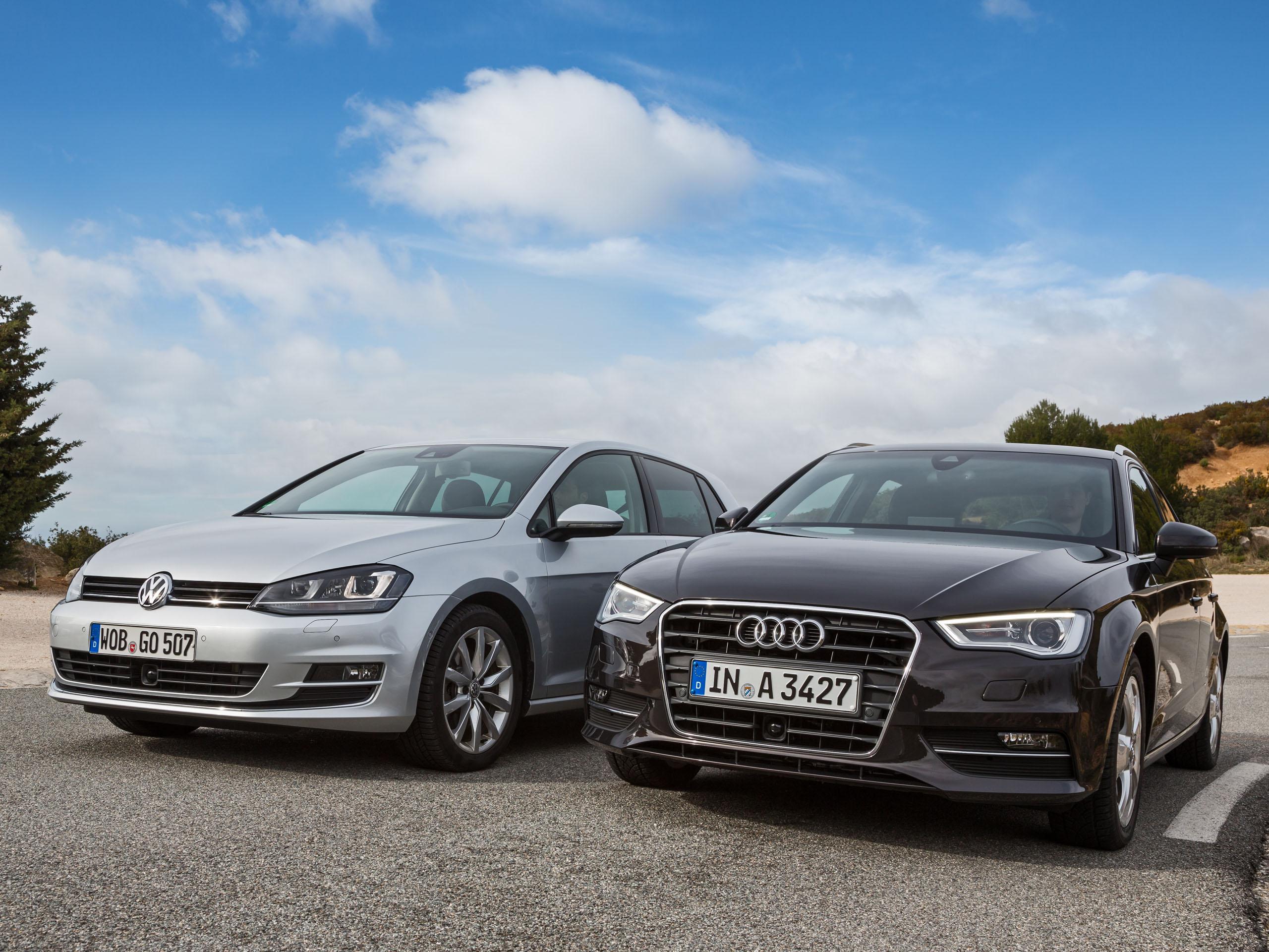 Kompaktklasse Vergleich Neuer Audi A3 Sportback Gegen Vw Golf Vii