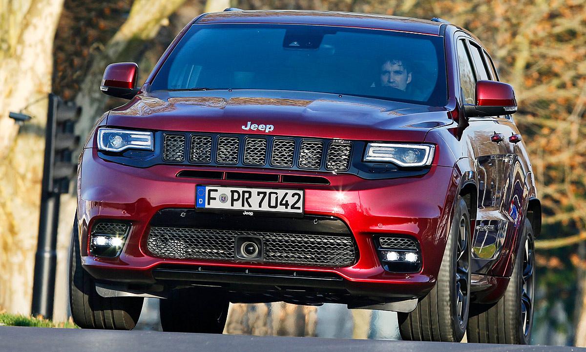 Neuheiten jeep grand cherokee srt facelift 2016