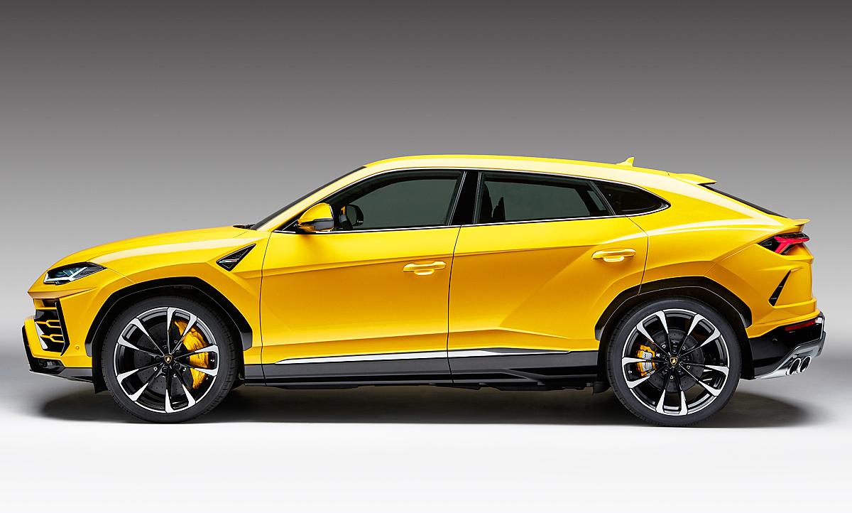 2017 Lamborghini Urus Suv