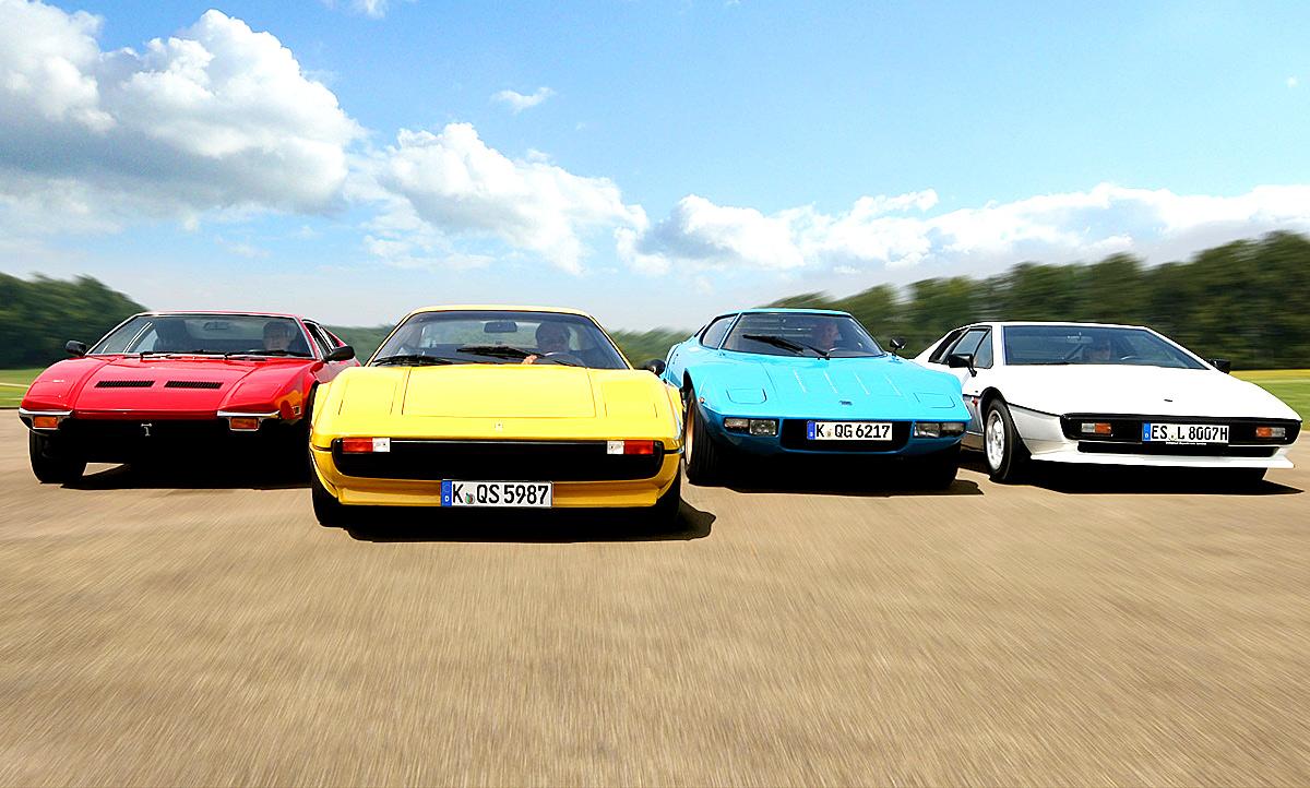 Pantera Ferrari 308 Stratos Esprit Classic Cars Autozeitung De
