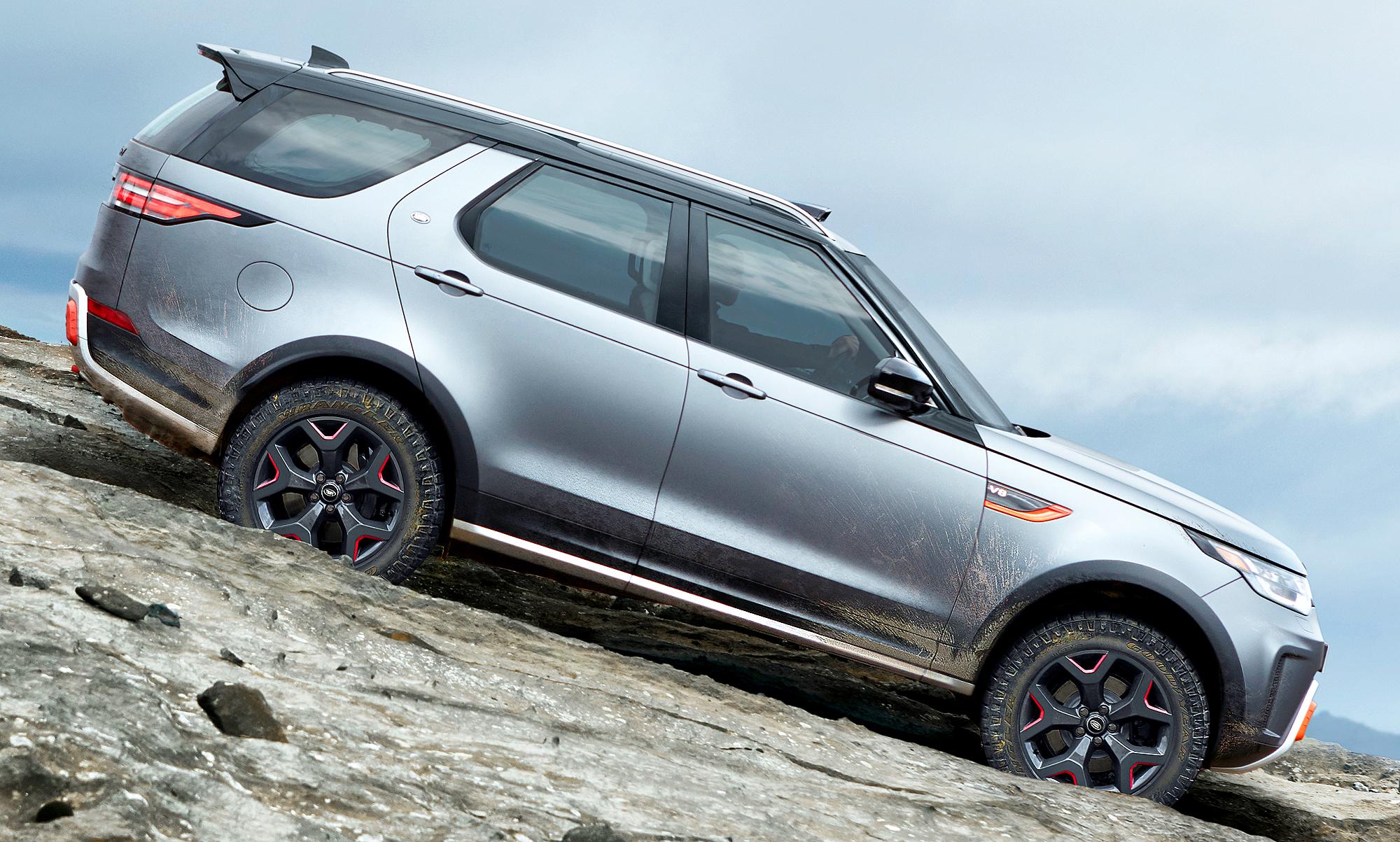 Land Rover Discovery SVX (2018): Erste Fotos | autozeitung.de