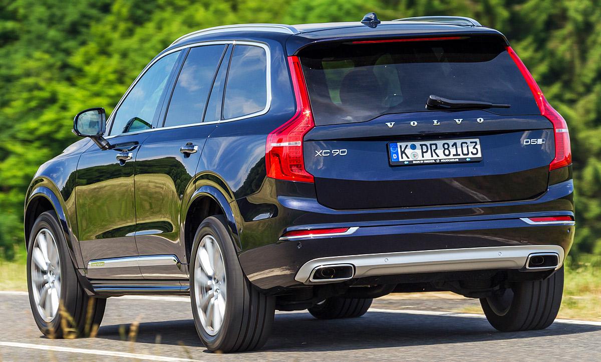 Land Rover Discoveryvolvo Xc90 Test Autozeitungde