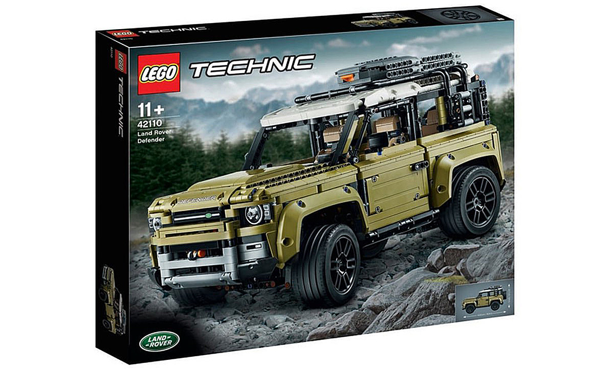 Land Rover Defender 2020 Lego Bausatz Autozeitung De