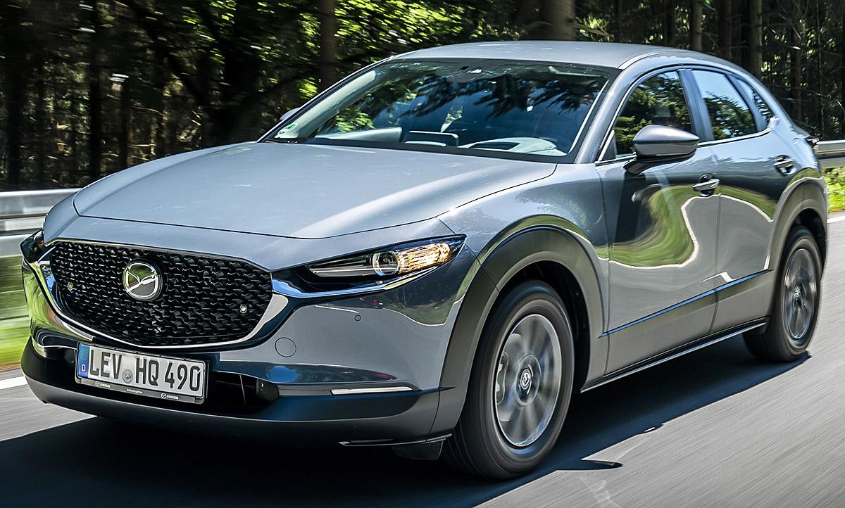 neuer mazda cx   erste testfahrt autozeitungde