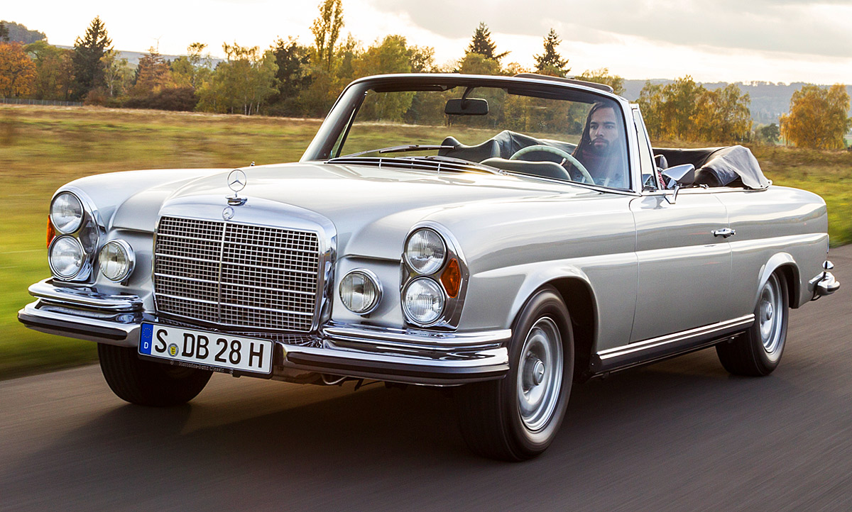mercedes 280 se 3 5 cabriolet classic cars. Black Bedroom Furniture Sets. Home Design Ideas