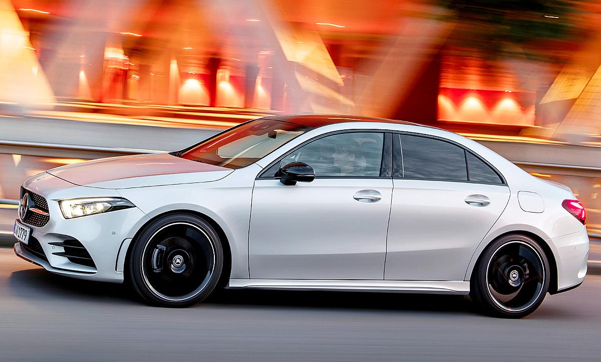 Mercedes A Klasse Limousine 2018 Motor Autozeitung De