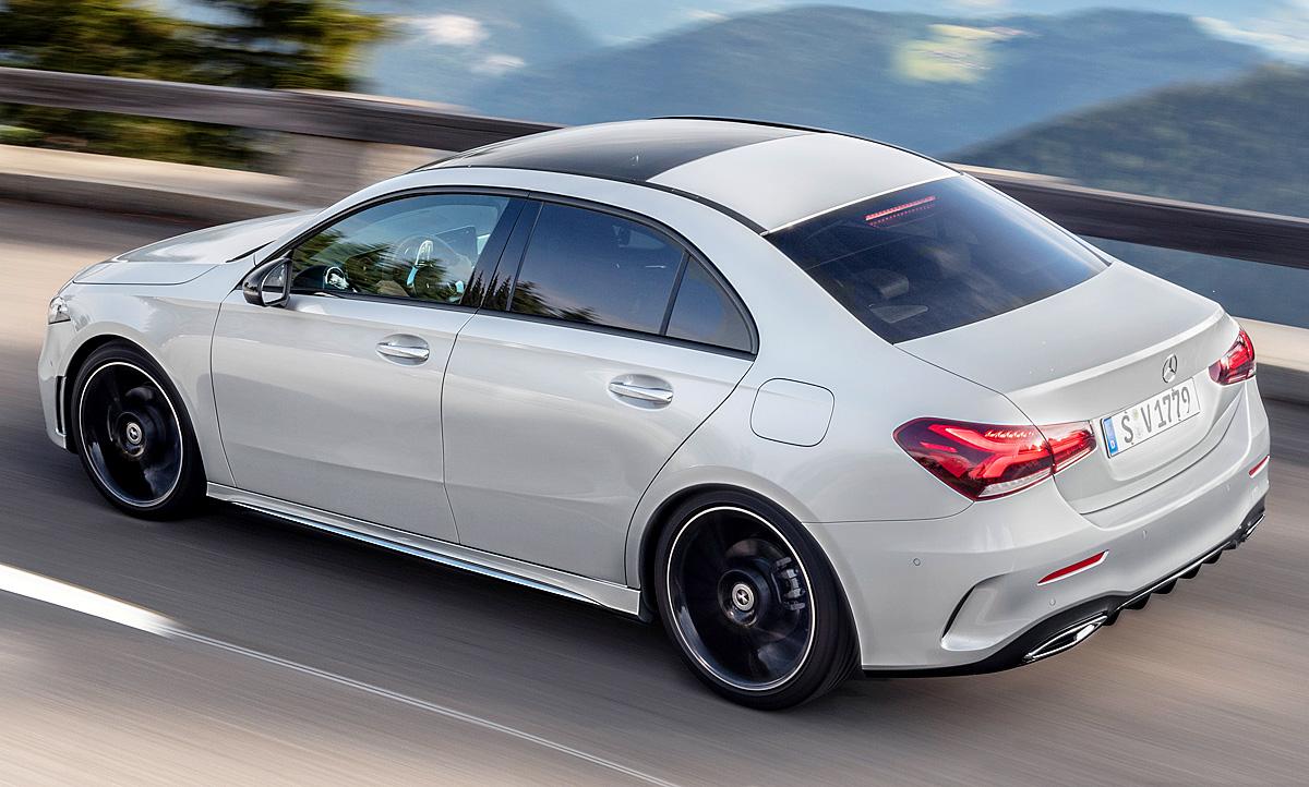 Mercedes a klasse limousine 2019