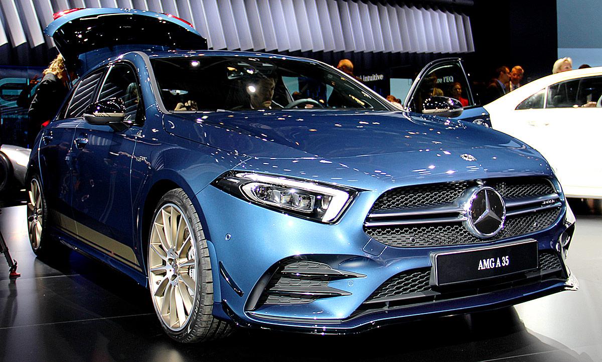 Mercedes Benz Van >> Mercedes-AMG A 35 (2018): Motor & Ausstattung | autozeitung.de