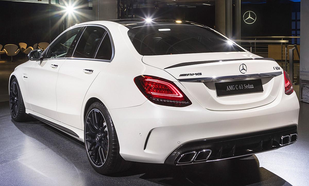 Mercedes Amg C 63 Facelift 2018 Preis Motor