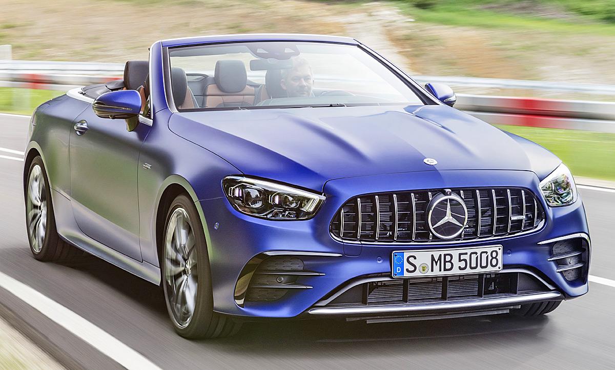 Mercedes-AMG E 53 Cabrio Facelift (2020): Preis | autozeitung.de