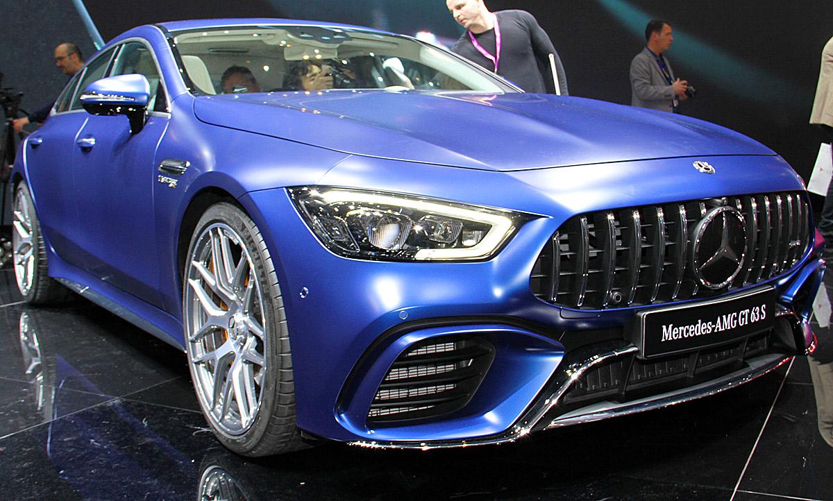 Mercedes Benz Amg Gt >> Smart Vision EQ & Mercedes-AMG GT 63 (2018): Video | autozeitung.de