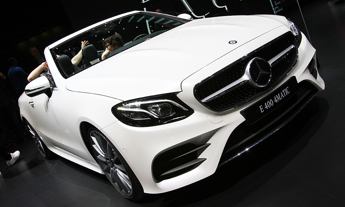 Mercedes E Klasse Cabrio 2017 Preis Autozeitungde