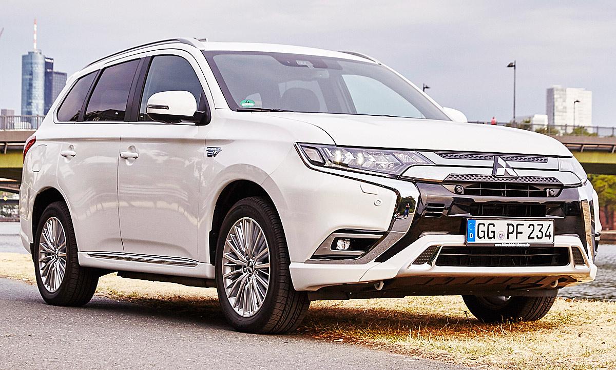 Mitsubishi Outlander Phev Facelift Test Autozeitung De