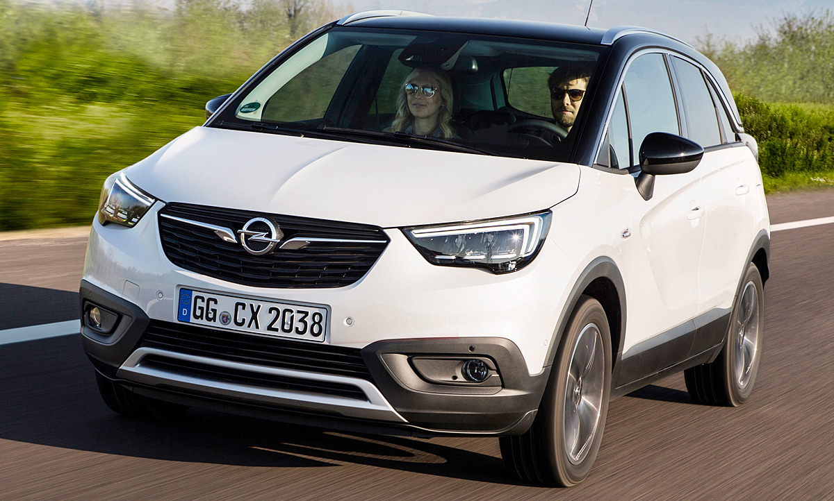 Opel Crossland X Test Kaufberatung Autozeitung De